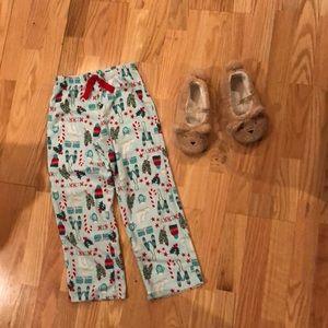 Winter pajama pants